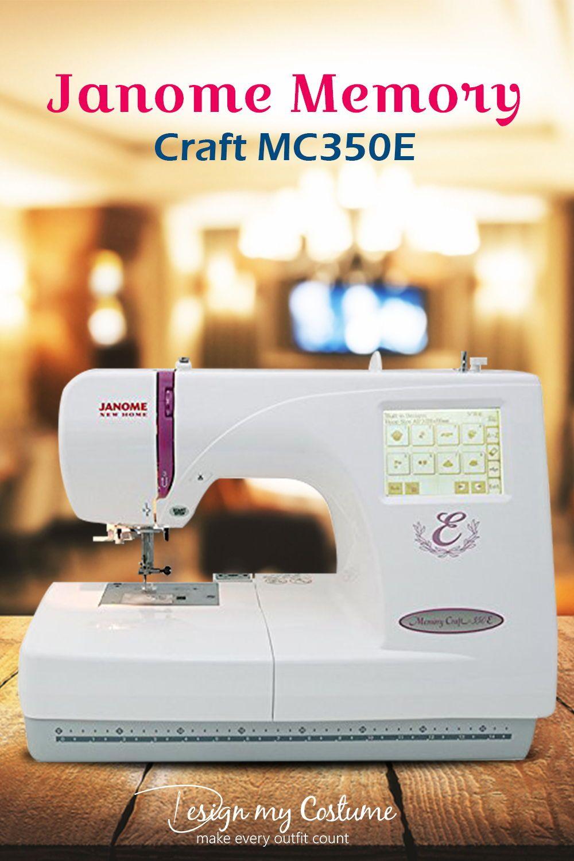 Janome Memory Craft Mc350e Review Embroidery Machine Reviews