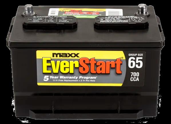 Everstart Maxx 65s South Car Battery Consumer Reports Car Battery Battery Battery Testing