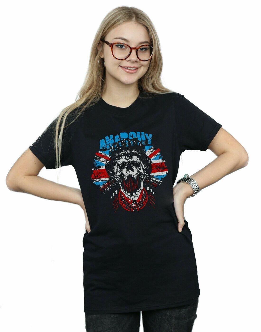 Drewbacca Anarchy Now Friend O Neck T Shirt Boyfriend Fit Women Fashion