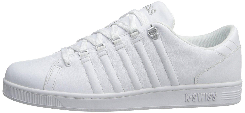 K-Swiss LOZAN III - zapatilla deportiva de piel hombre, Blanco (Blanco/