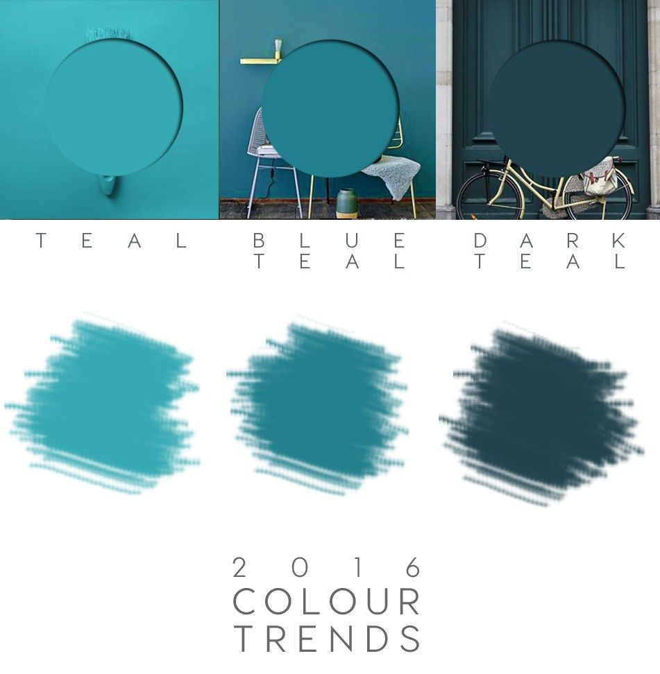 Teal paint teal colour trend 2016 decor colours teal for Aqua blue paint for walls