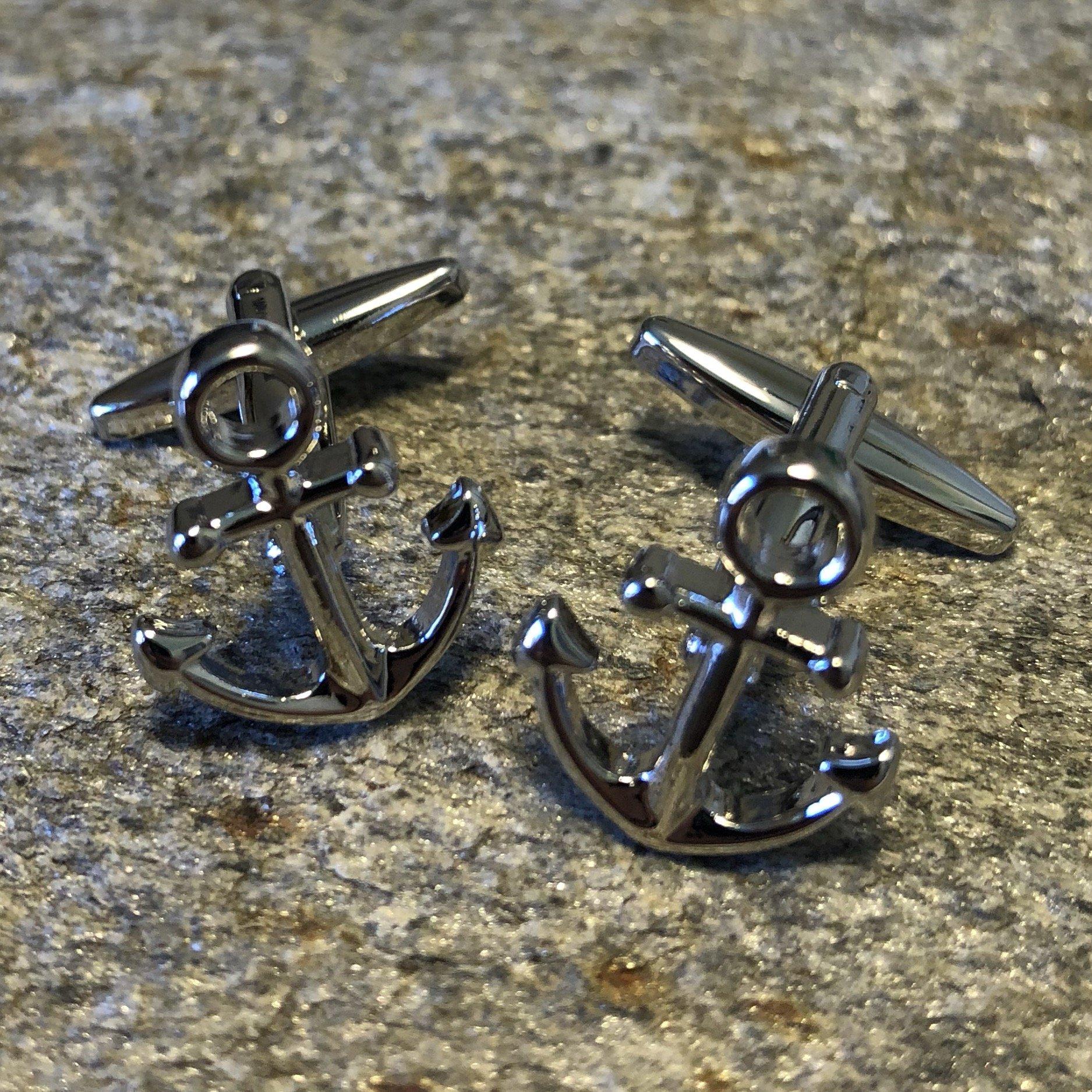 Ships Helm Cufflinks  Ships Wheel  Nautical Cufflinks  Captain  Boat  Sailing Ship