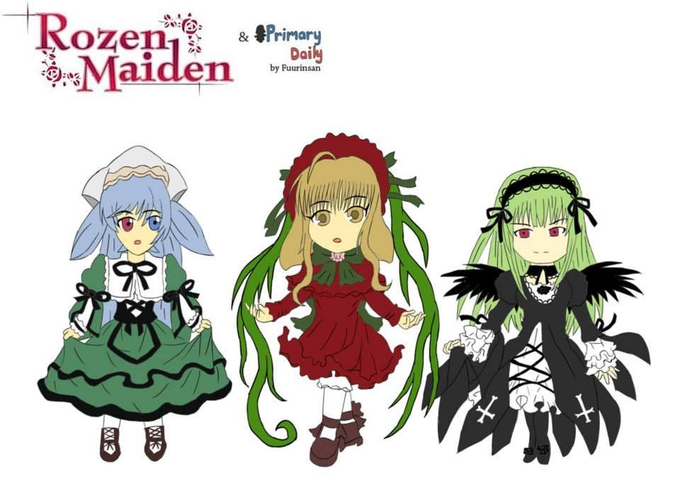 Primary Maidens (Rozen Maiden) FANART