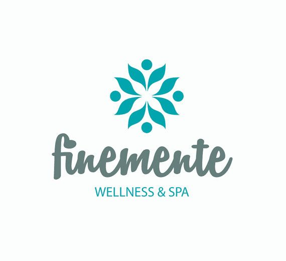 Spa wellness logo  Premade Spa & Wellness Logo by oposanna on Etsy | Logo | Pinterest ...