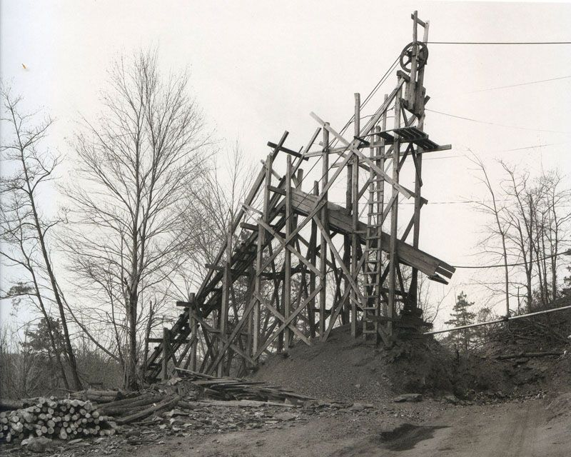 Coal Mine, Pennsylvania, Bernd  Hilla Becher