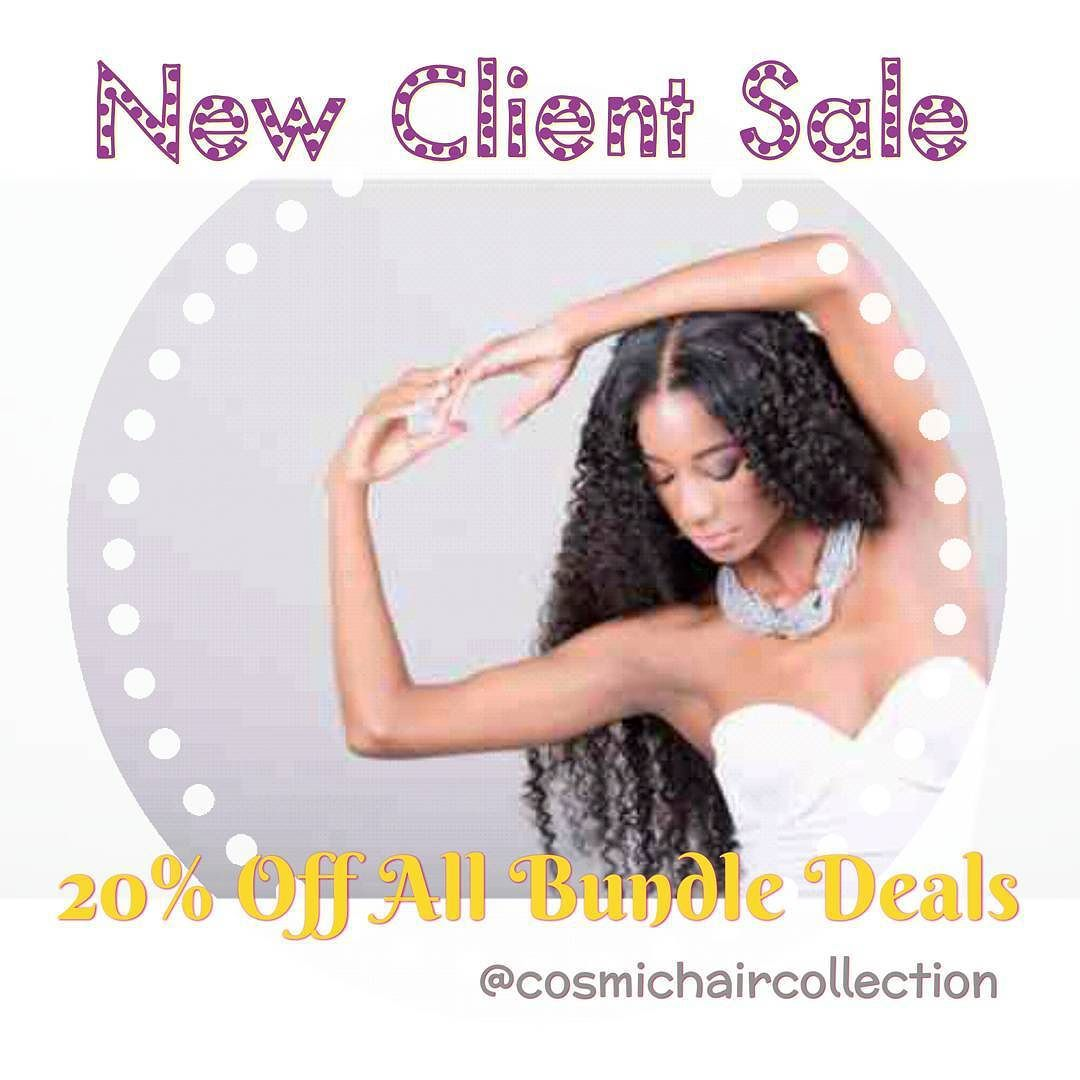 Follow @cosmichaircollection for 20% off your first purchase. Quality hair you can trust.  #757 #brazilianhair #straighthair #kinkycurly #bundles