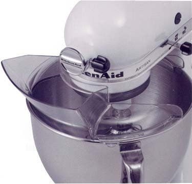 KitchenAid KPS2CL Pouring Shield for 4-1/2 and 5-Quart Stand Mixers KitchenAid