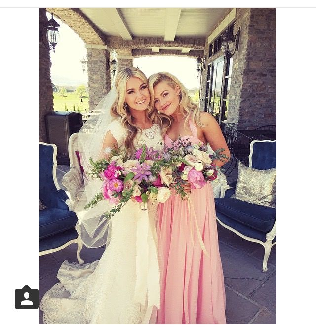 Whitney Carson Wedding Hair Style: Best Friends Forever Whitney Carson And Lindsay Arnold