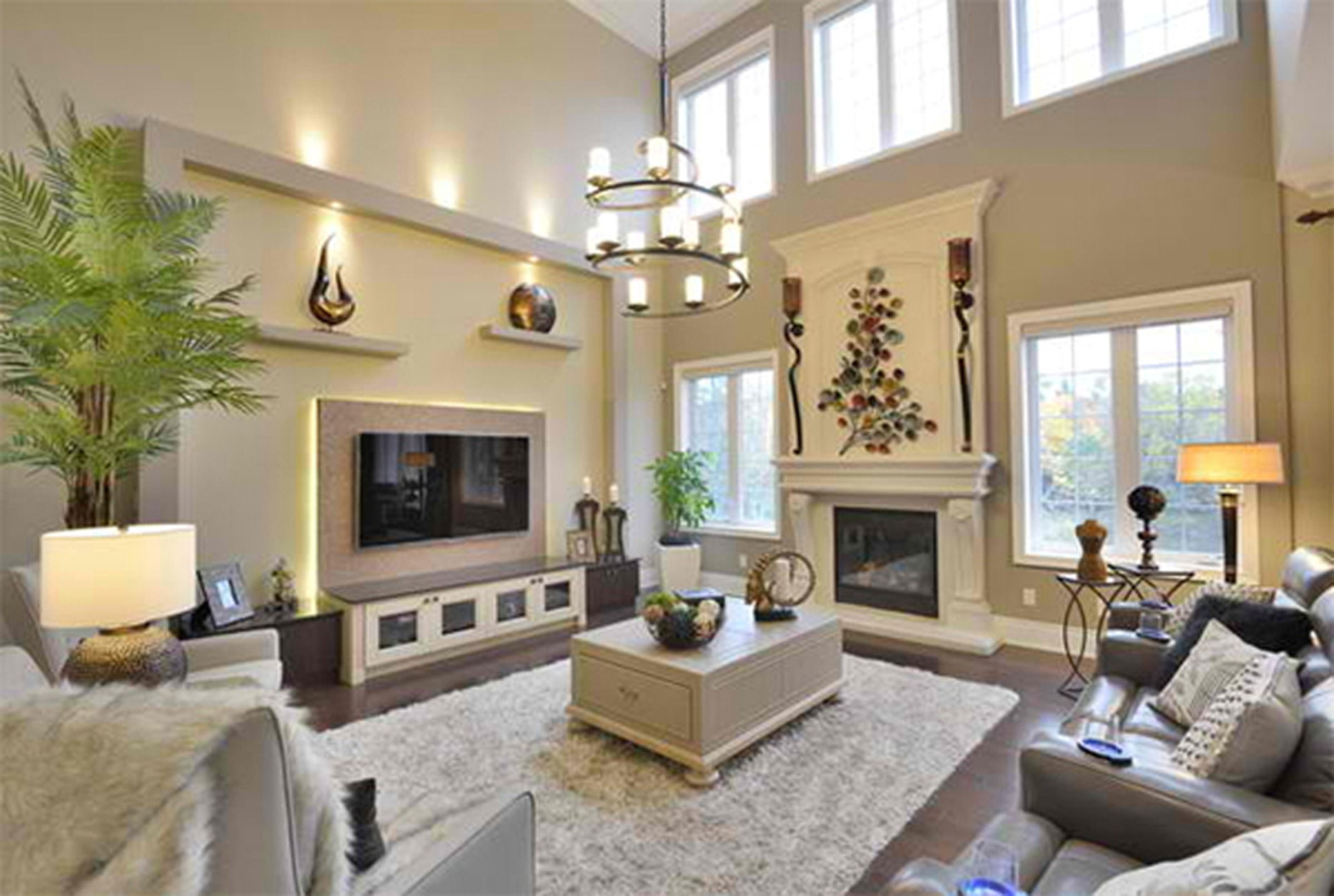 How To Decorate A Long Narrow Living Room With A Fireplace