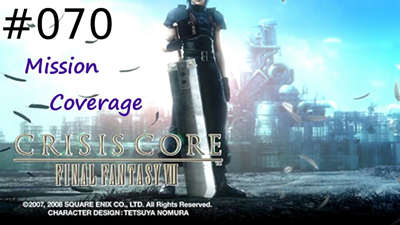 [#070] Final Fantasy VII: Crisis Core (PSP) Gameplay by Taronia Gamenstein