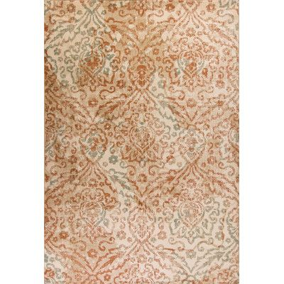 Albrecht Orange Sand Gray Area Rug Floral Rug Kas Rugs Area Rugs