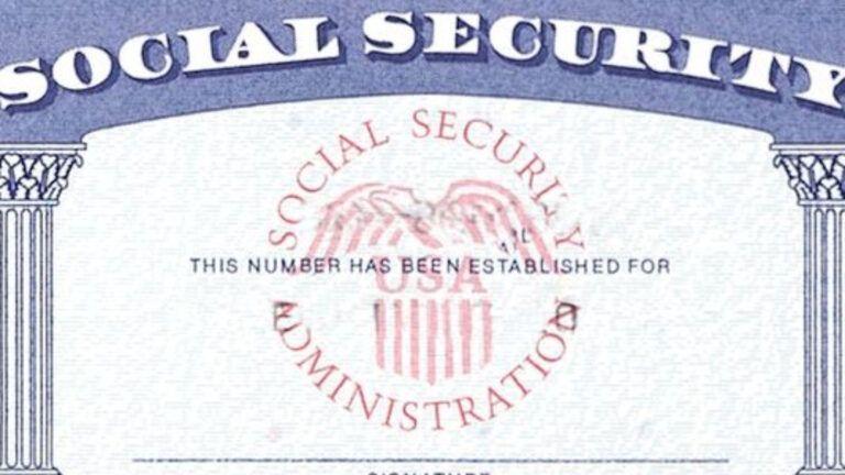 7 Social Security Card Template Psd Images - Social ...