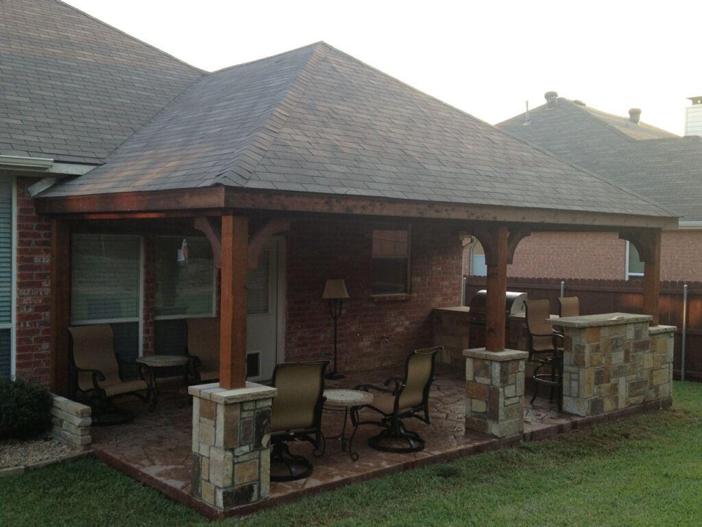 Patio Cover Photos C3 Backyard Oasis Llc Denton Texas