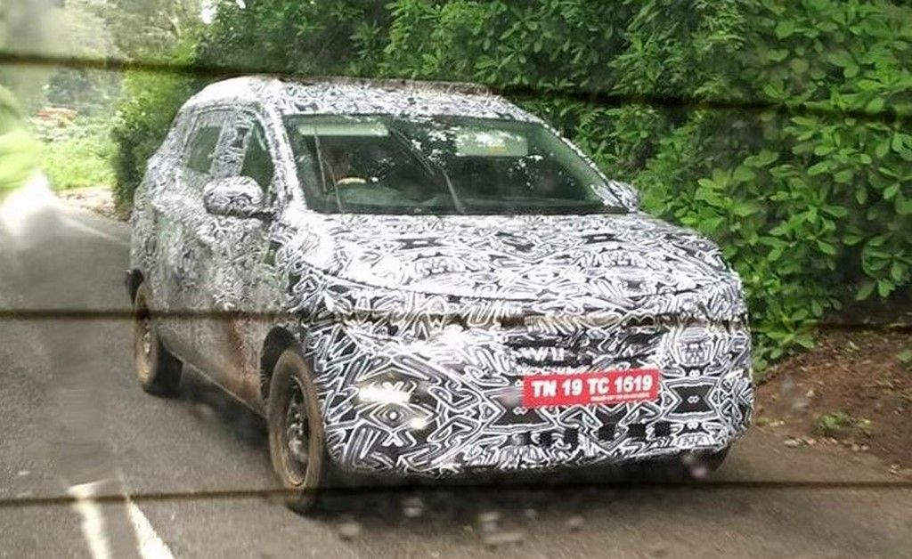 New Renault 7 Seater Mpv Spied Testing Based On Cmf A Platform