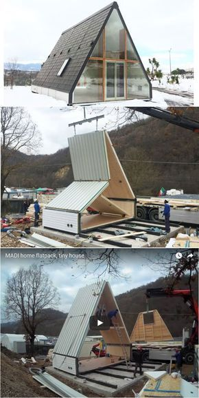 This Folding A-Frame Cabin Is a Shoo-In for Fantas