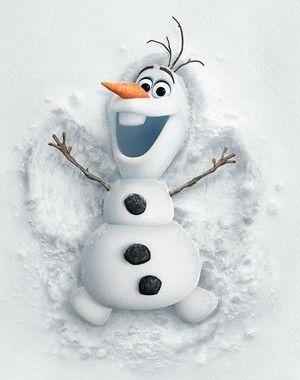 Frozen Photo: Olaf