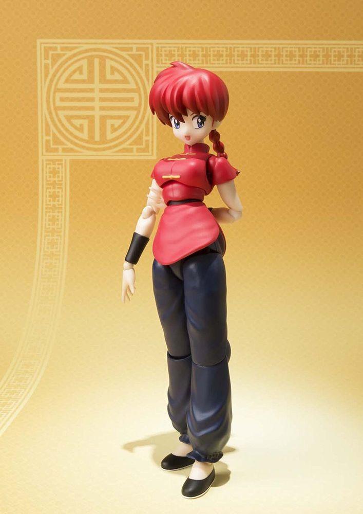 New Bandai S.H.Figuarts Ranma 1//2 Saotome Ranma PVC From Japan