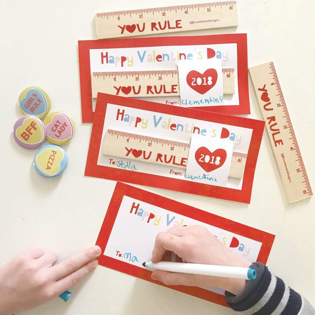 The Cutest Classroom Valentine S Cards