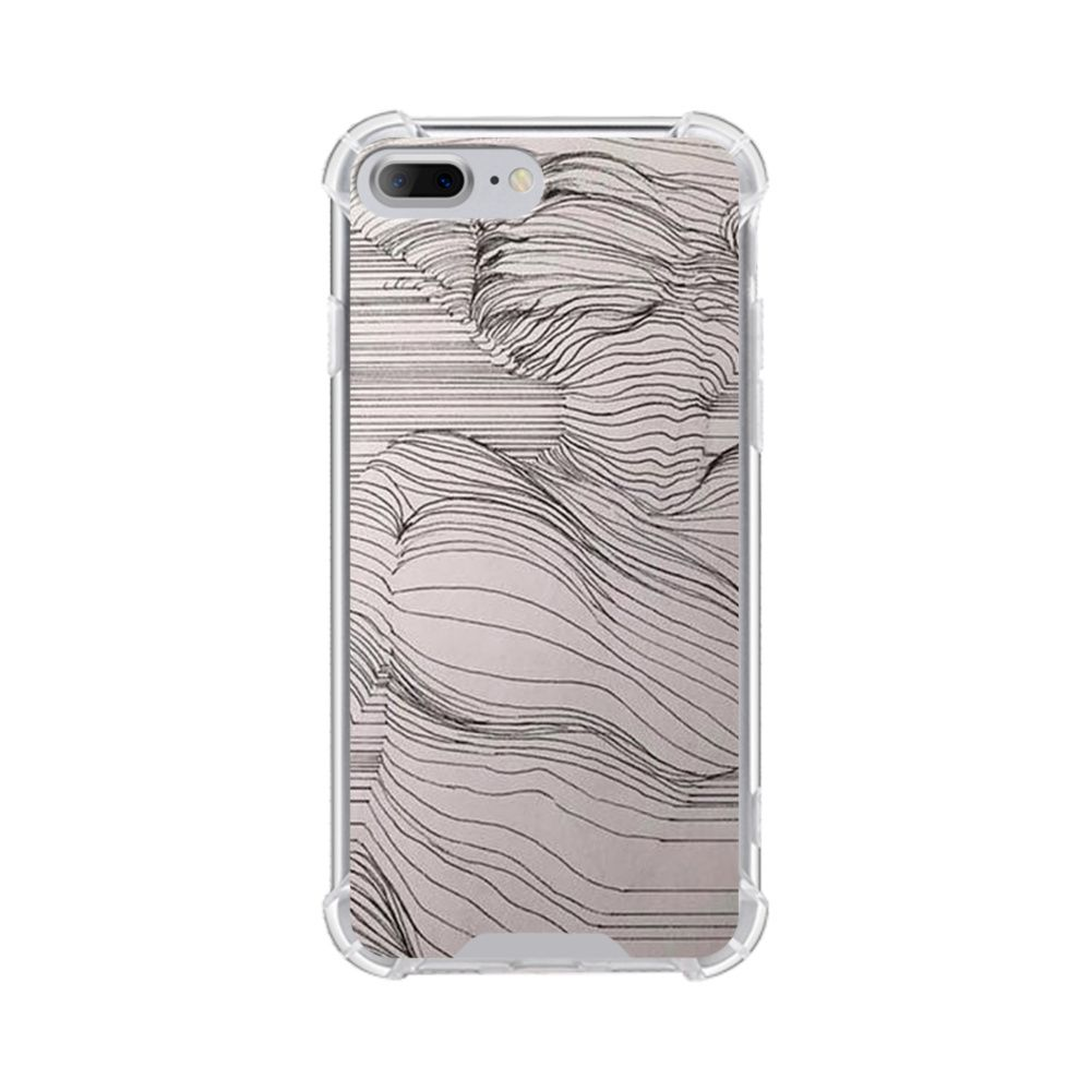 Stripe Drawing iPhone XS Max Case Phone case design