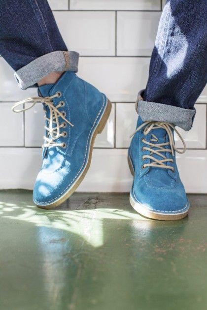 f03a8b22c1de Kickers   Selectism Team Up For Legend II Editorial Kickers Shoes, Blues  Traveler, Gentleman