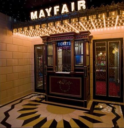 Home theater entrance with box office para la casa pinterest cine en casa cine y modelo - Box office cine directors ...