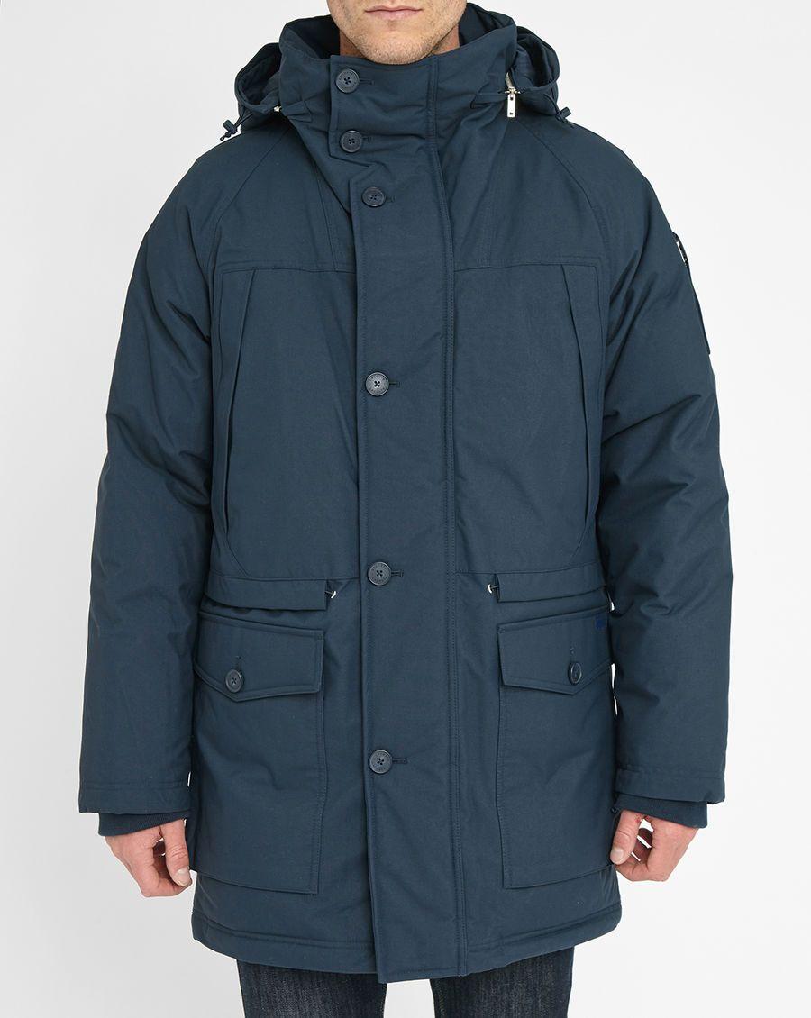 Parka LACOSTE duvet capuche amovible bleu marine prix Parka Homme Menlook  495.00 €