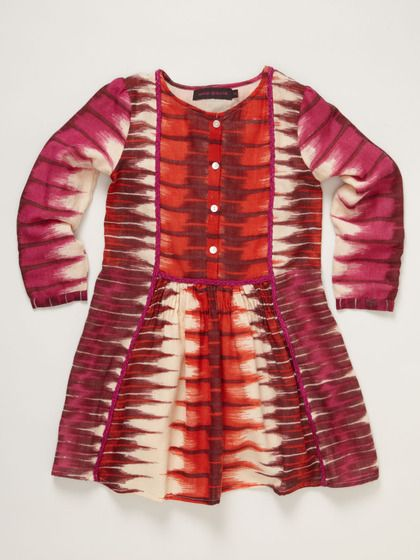Antik Batik Flame Dress