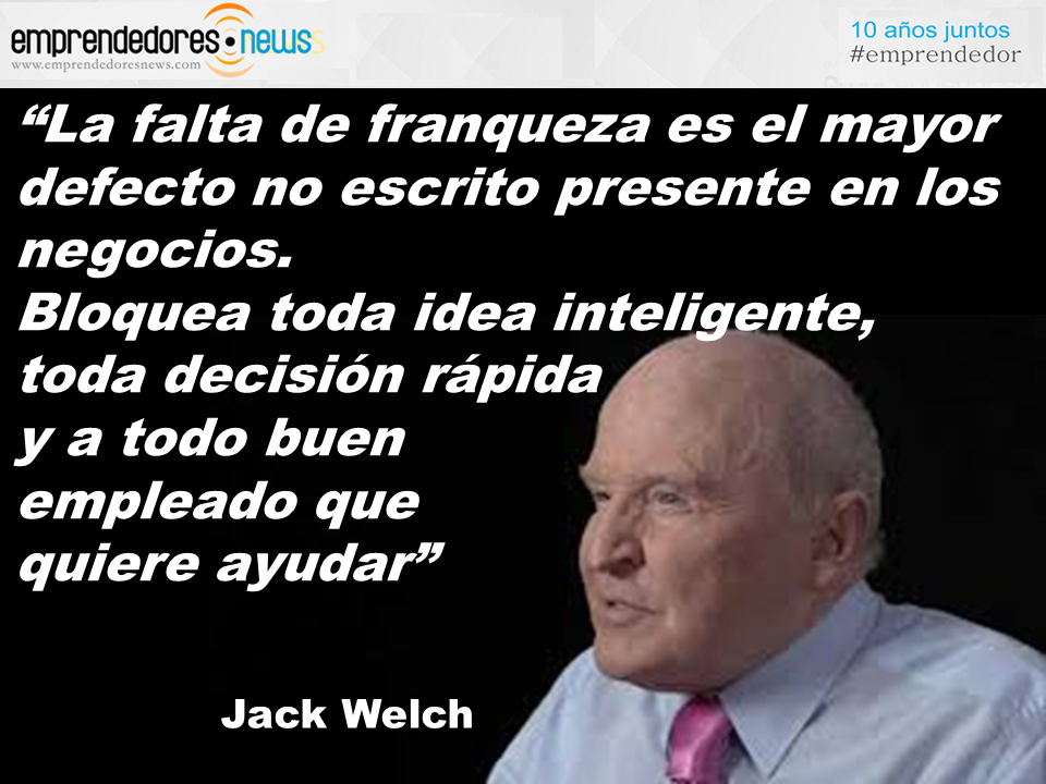 El Gurú Diario Jack Welch La Falta De Franqueza Cultura