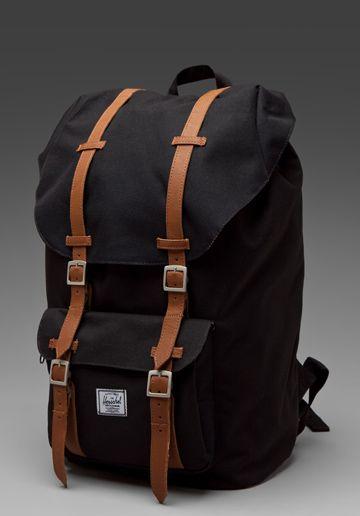 Herschel Supply Co Little America Backpack In Black