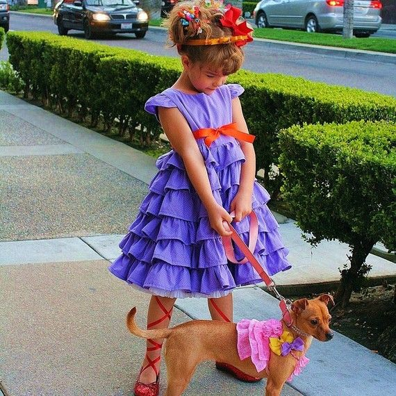 fancy nancy costume i made a similar dress for jessies costume she loves it and - Fancy Nancy Halloween