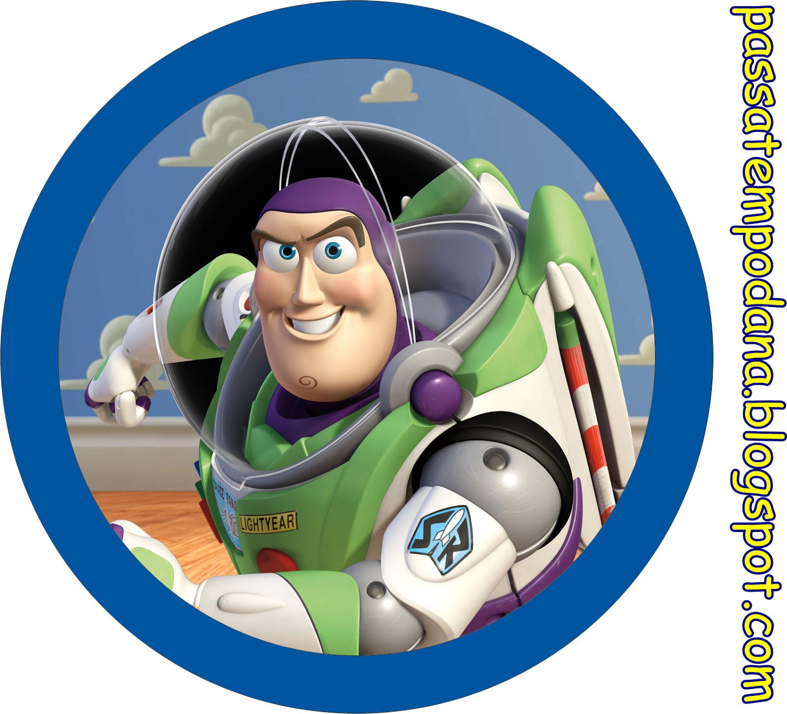 Toy story invitaciones y etiquetas para candy bar para imprimir gratis buzz lightyear en - Cochon de toy story ...