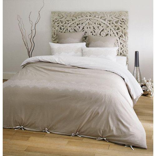parure housse de couette damya 260x240 textiles pinterest parure housse de couette parure. Black Bedroom Furniture Sets. Home Design Ideas