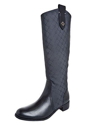 Bota Capodarte Nero Preta Cowboy Boot 2a06b6ec5fc