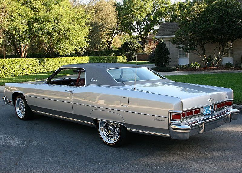 1974 Lincoln Town Coupe Mjc Classic Cars Pristine Classic Cars