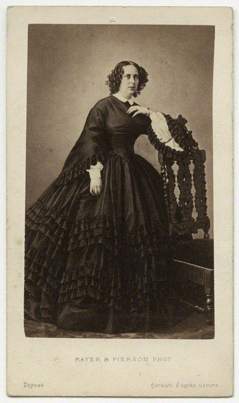 Sophia Queen Of The Netherlands By Mayer Pierson Albumen Carte De Visite 1860s 3 8 In X 2 85 Mm 50 Image Size Given M Hutchinson