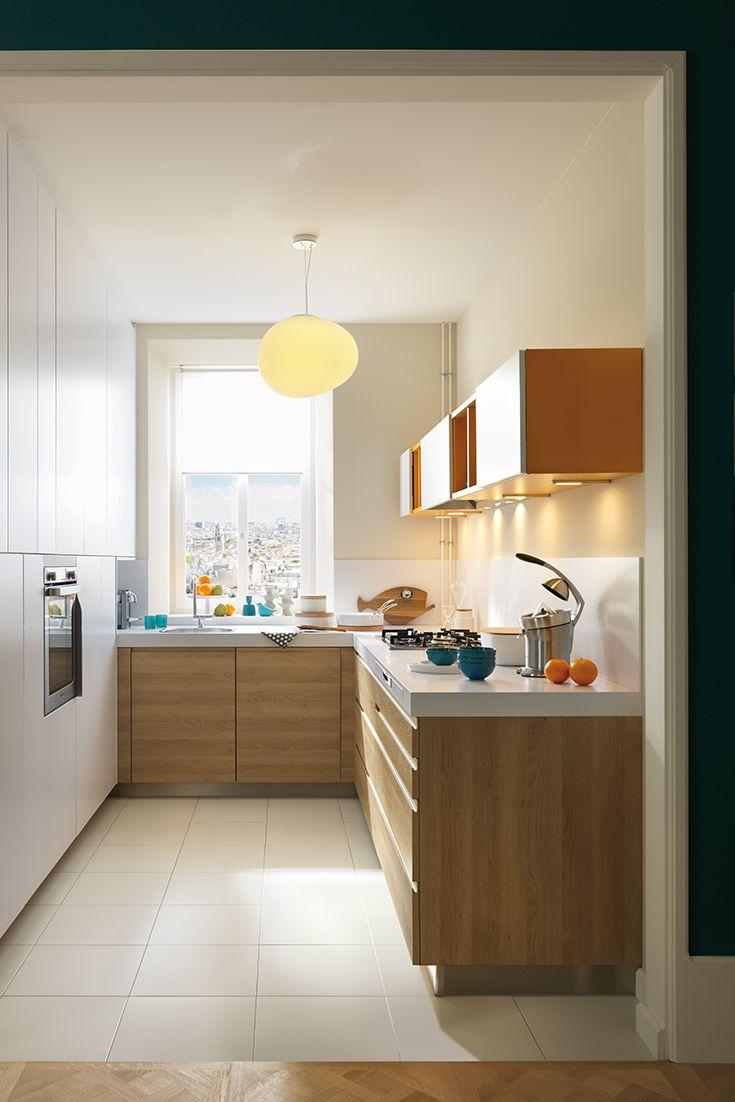 kleine kche mit viel stauraum best kleine k che with. Black Bedroom Furniture Sets. Home Design Ideas