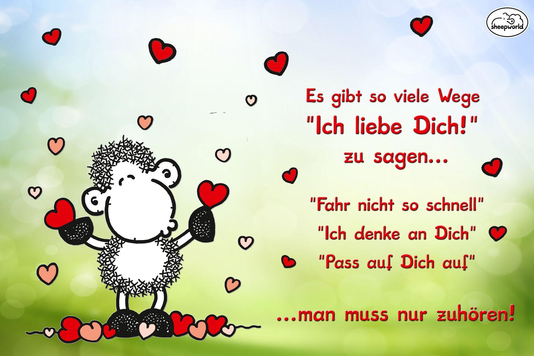 Ich liebe dich sheepworld