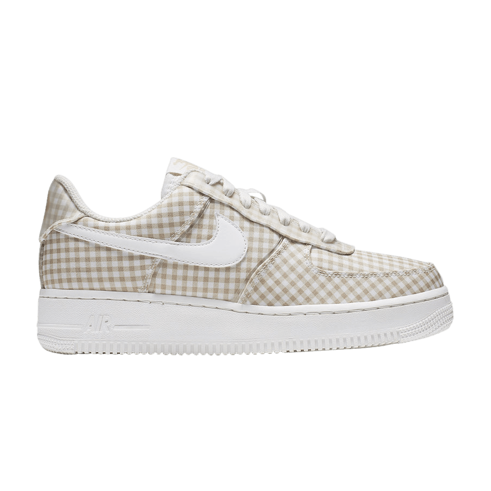 Wmns Air Force 1 Low QS 'Gingham Pack Beige' in 2020