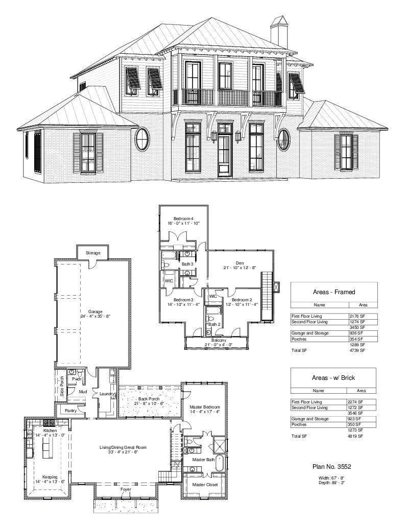 Plan 3552 Design Studio House Plans Home Plan Drawing Studio Floor Plans