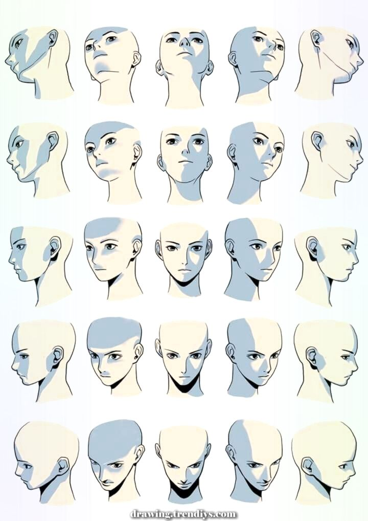 Unique And Creative The Face Of The Shadow In Several Angles Distinctive And Artistic The Face Of T In 2020 Figure Drawing Reference Art Reference Photos Drawings