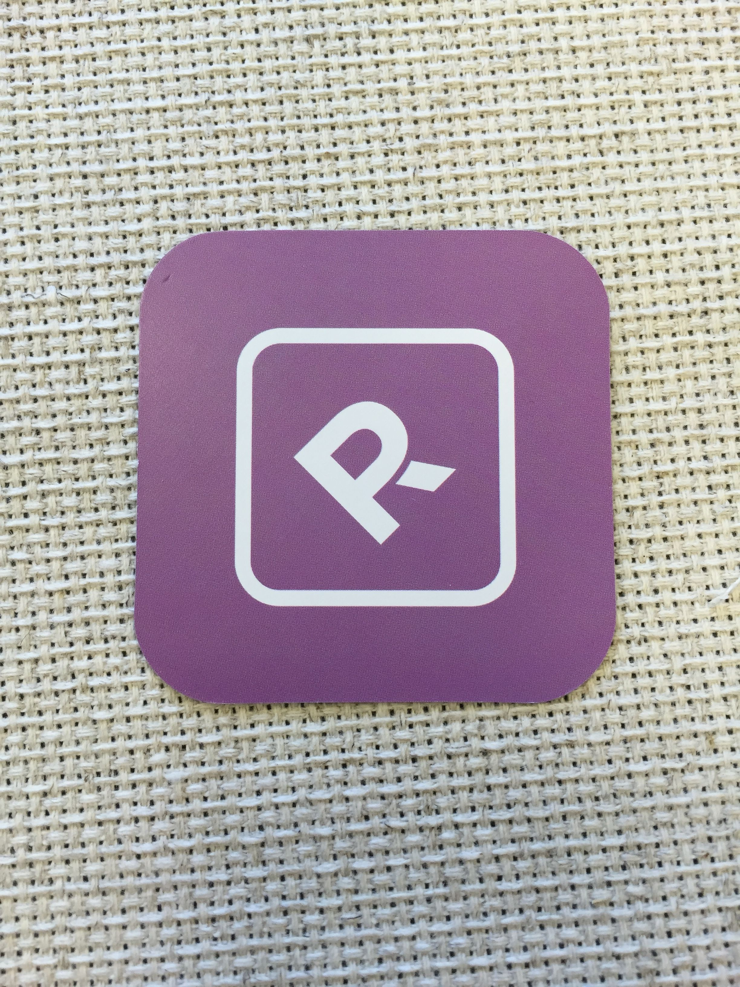Cute square business cards for reed pr with rounded corners purple cute square business cards for reed pr with rounded corners purple color reheart Image collections