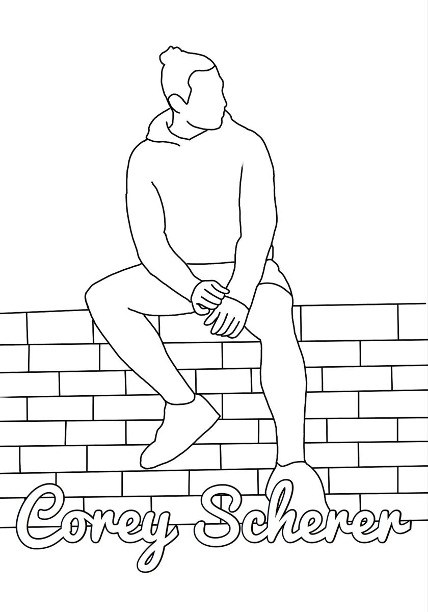 Coloringpages Coloring Bored Quarentine Traphouse Youtuber Youtube Coreysheer Samandcolby Colbybrock Jake Webb Coloring Pages Sam And Colby Line Art