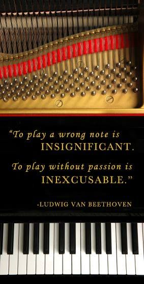 To Play Without Passion A Tribute To Beethoven On His Birthday