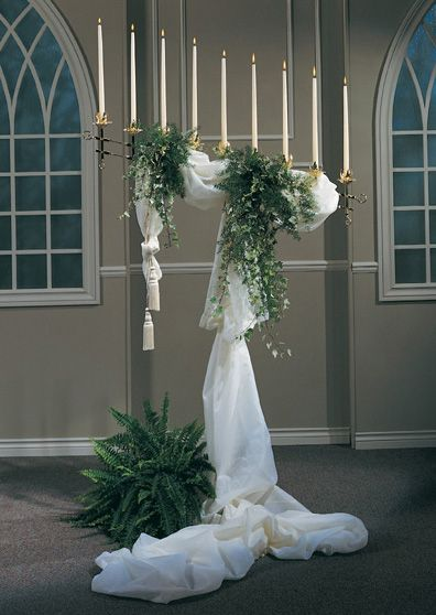 Swag For Candelabra Tulle Wedding Decorations Tulle