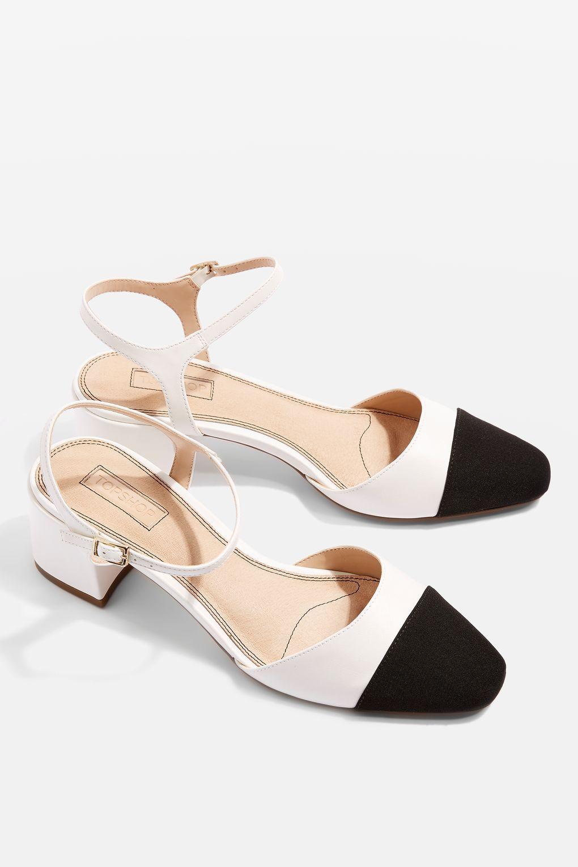 4c85c4c6d55 Jolene Toe Cap Block Heels | Shoes | Block heel shoes, Shoes, Block ...