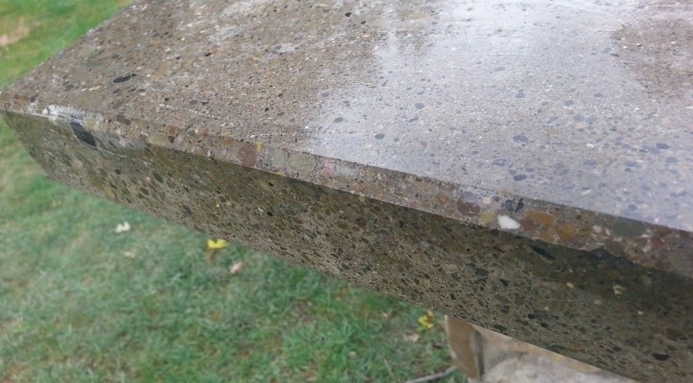 How To Make Professional Polished Concrete Countertops Backyard Water Garden Polished Concrete Countertops Concrete Countertops Polished Concrete