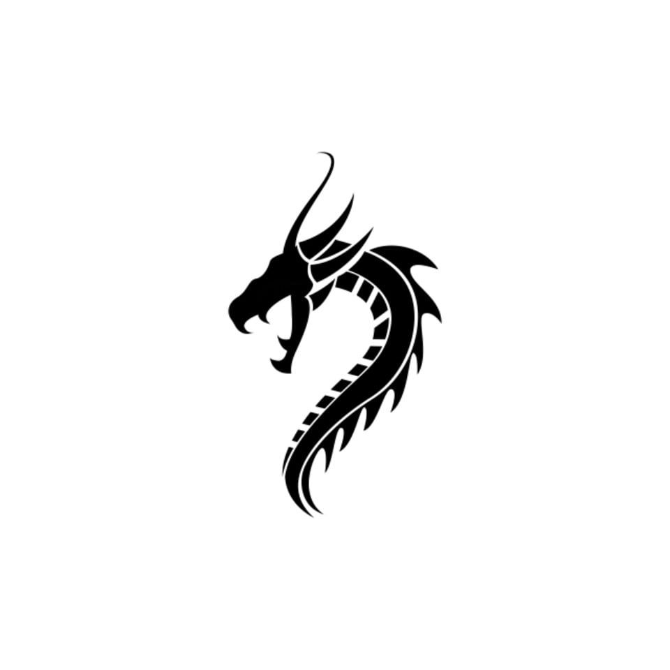 Dragon Logo Vector Illustration Icons Converter Icons Fitness Icons Maker Png And Vector With Transparent Background For Free Download Dragon Icon Vector Illustration Vector Logo