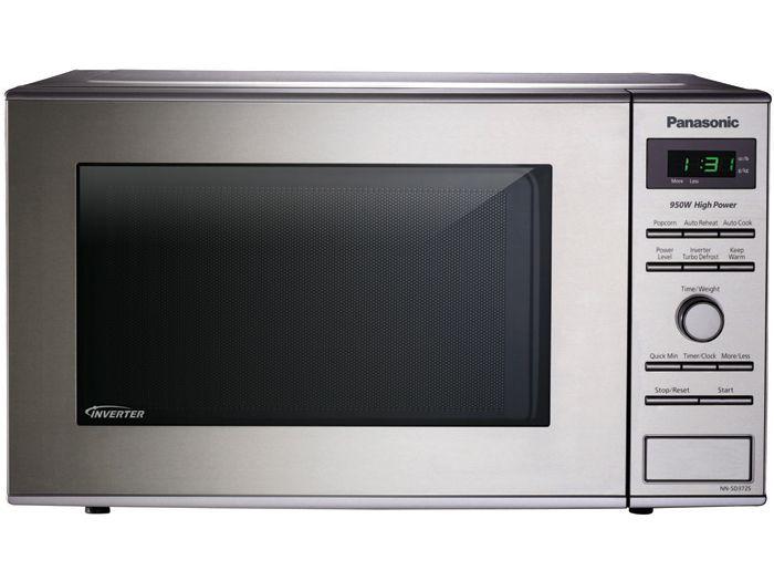 Panasonic Nn Sd372s 8 Cu Ft Compact Countertop Microwave With