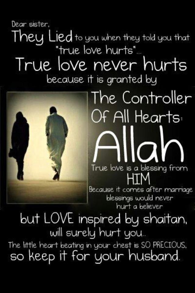 Dear sister    keep it for your husband!   īslam īs beautīful   Love