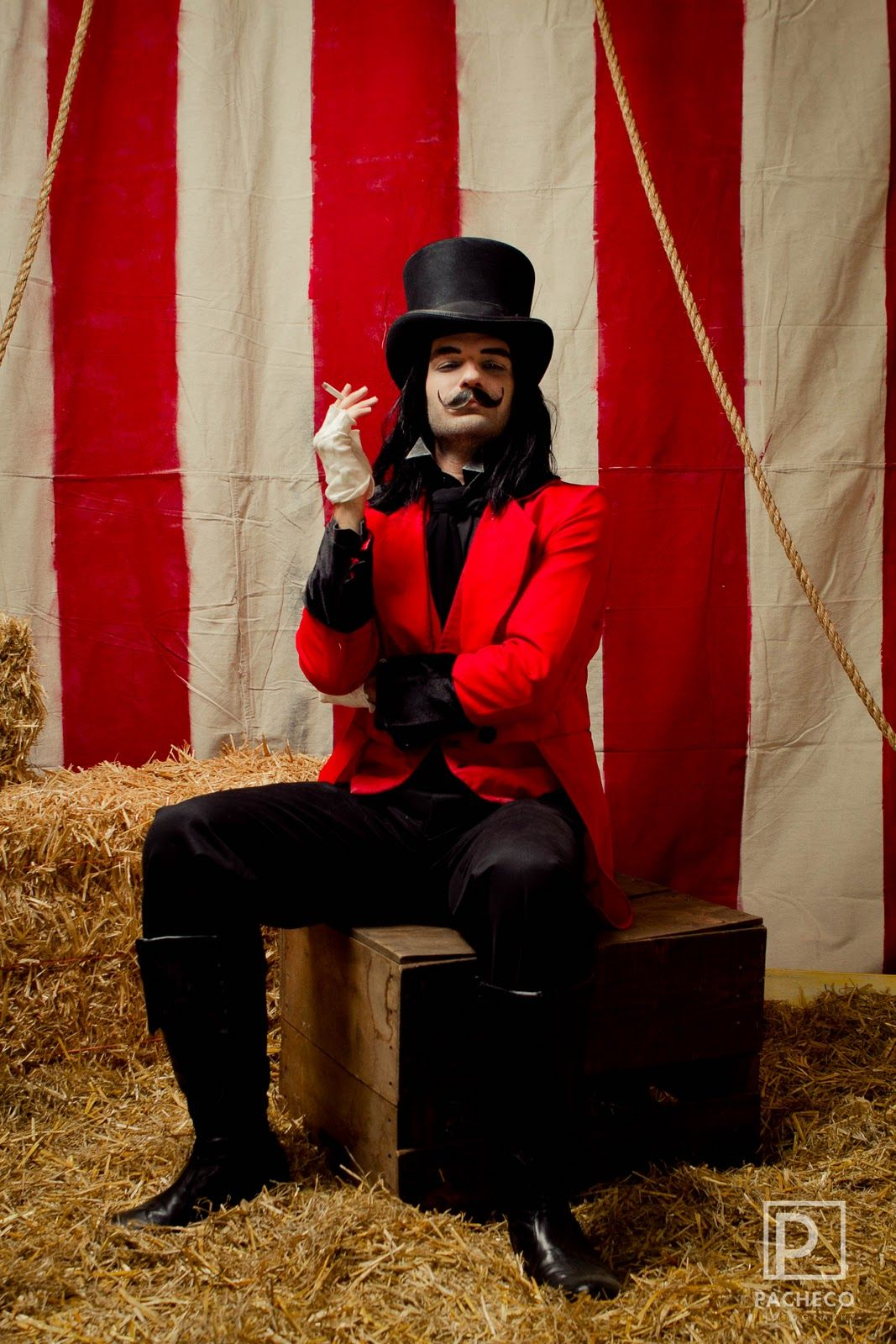 This guy had a circus carnival adult party in his house